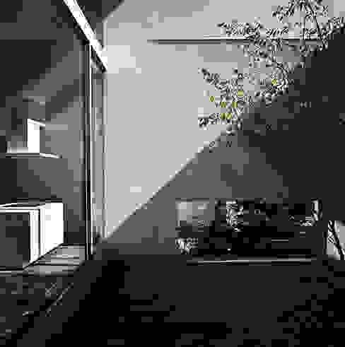 方庵 モダンな庭 の 和泉屋勘兵衛建築デザイン室 モダン