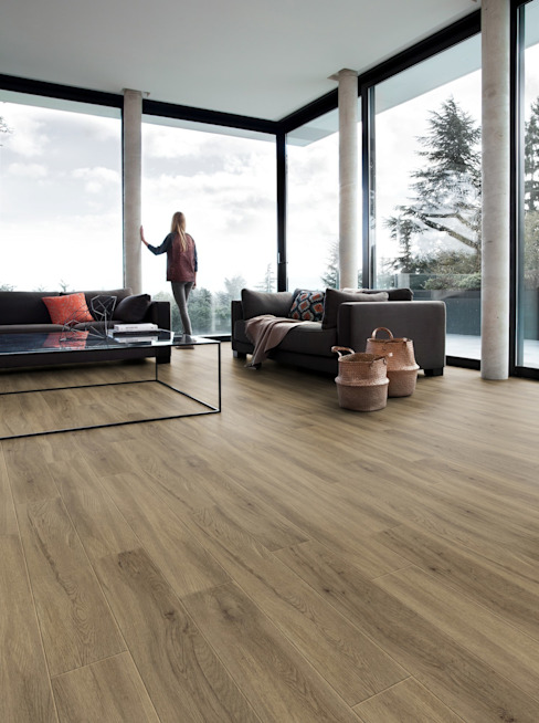 Walls & flooring by PAVIMENTOS GERFLOR