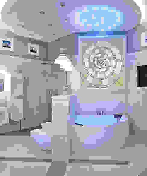 квартира на Аптекарской набережной: Ванные комнаты в . Автор – EJ Studio, Классический