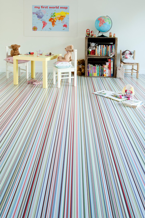 Stripes de Avenue Floors Moderno