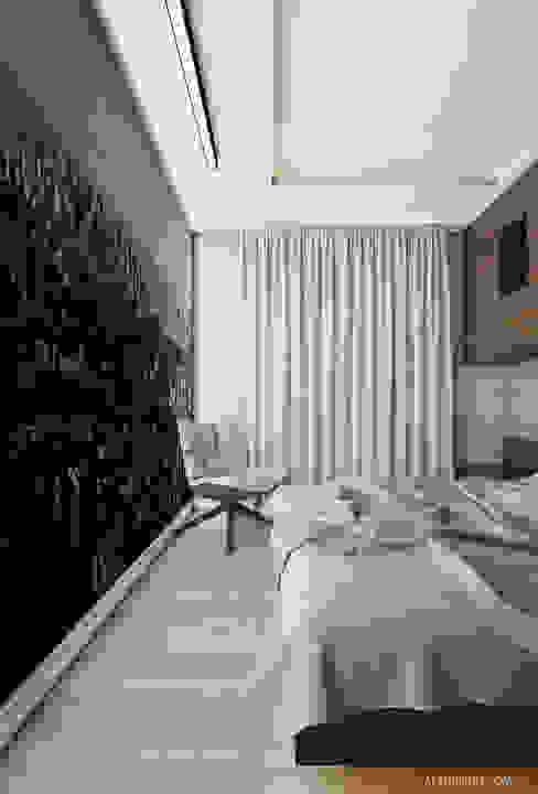 Projekt mieszkania 55m2 w Dąbrowie Górniczej: styl , w kategorii Sypialnia zaprojektowany przez Ale design Grzegorz Grzywacz,