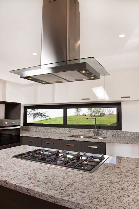 Casa RDM45: Cocinas de estilo  por VG+VM Arquitectos, Moderno