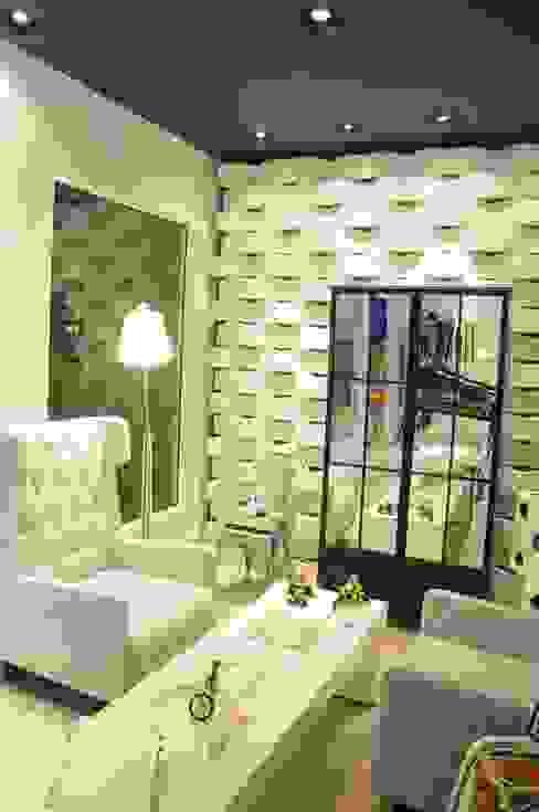 Paredes y pisos de estilo moderno de Renata Amado Arquitetura de Interiores Moderno