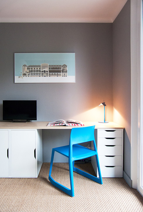 Chambre Chambre moderne par Antoine Chatiliez Moderne