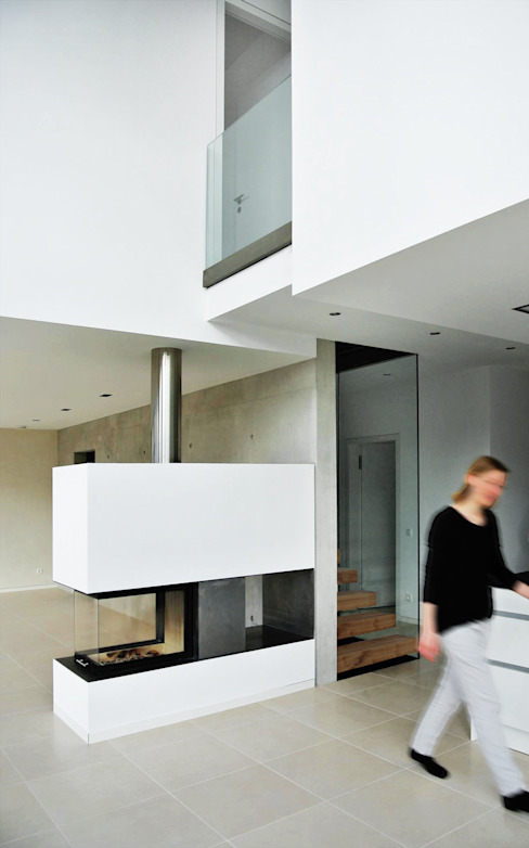 unlimited architekten  |  neumann + rodriguez의  거실, 모던