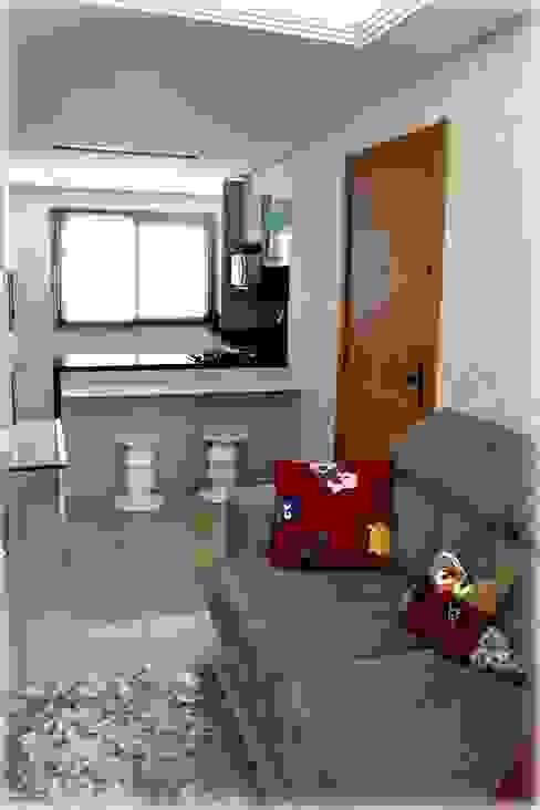 Salas / recibidores de estilo  por Tuti Arquitetura e Inovação, Moderno