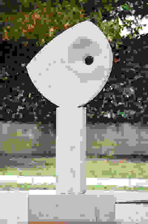 Commissione per una scultura a Sant'Ippolito (Pesaro e Urbino) Federico Pozuelo Scultore Giardino minimalista