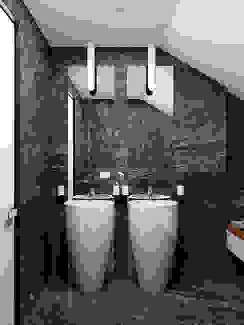 HOMEFORM Студия интерьеров Minimalistyczna łazienka