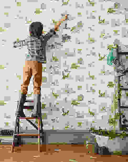 Magnetic Dino Wallpaper por Sian Zeng Campestre