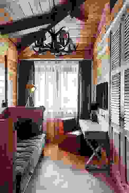 Rustikale Schlafzimmer von Архитектор Татьяна Стащук Rustikal