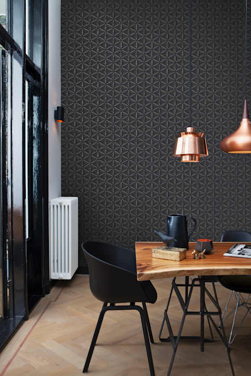 حديث  تنفيذ Tektura Wallcoverings, حداثي