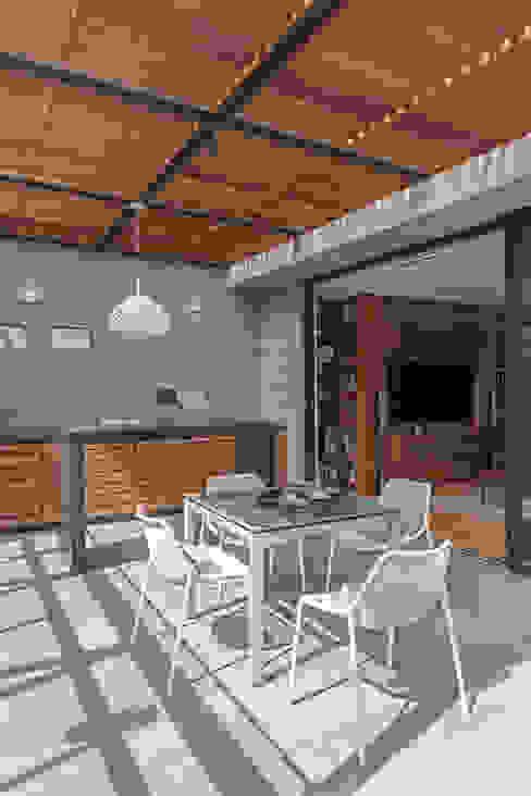 Modern Terrace by Faci Leboreiro Arquitectura Modern