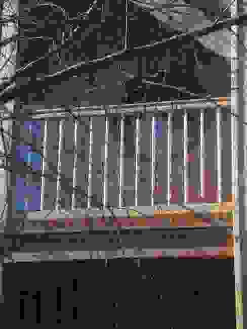 maison FOR Balcon, Veranda & Terrasse ruraux par Cécile Boerlen Architecte SARL Rural