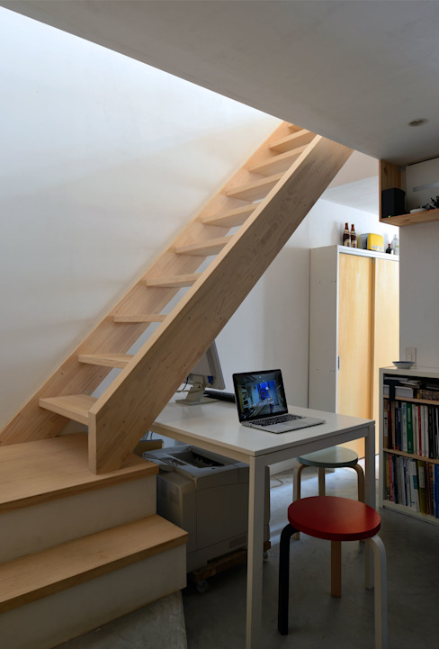 生野区 の長屋 - Row house of Ikunoku: 林泰介建築研究所が手掛けた和室です。,オリジナル
