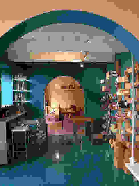 sala ingresso Laura Canonico Architetto Gastronomia in stile eclettico