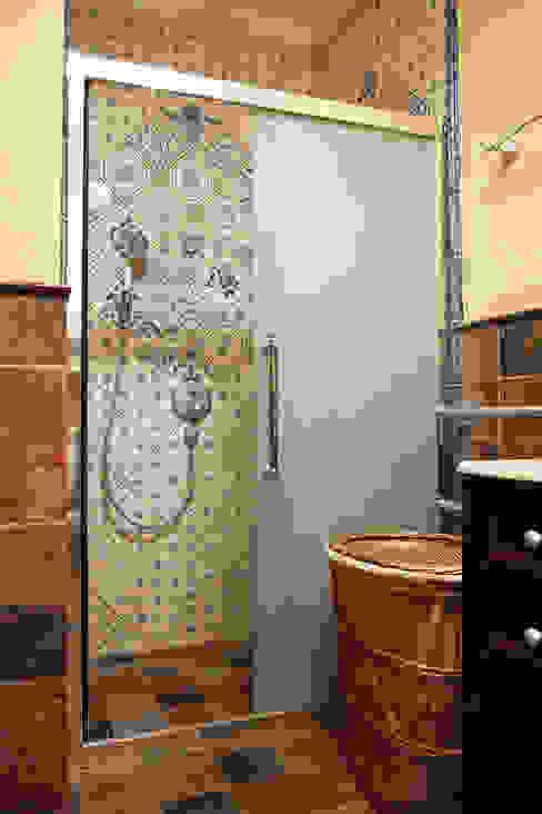 Санузел хозяйственный. Мария Остроумова Ванная комната в стиле кантри