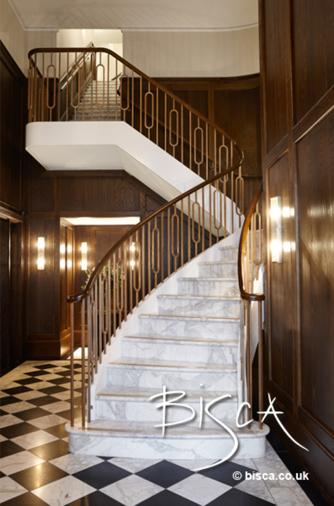 Stone Staircase by Bisca by Bisca Staircases Classic