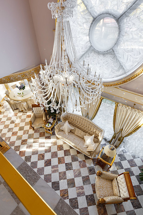 Дом в Песочном Гостиная в классическом стиле от Privilege Design Классический