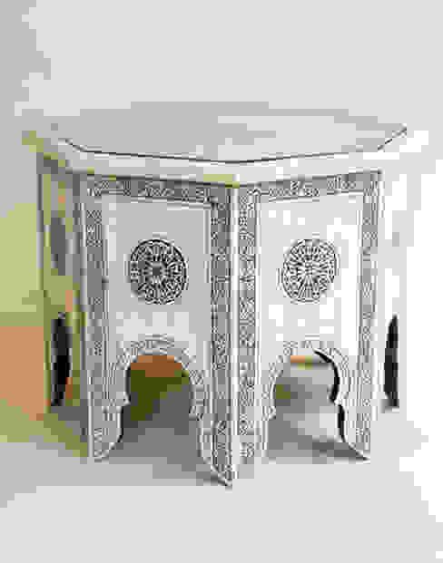 White Bone Coffee Table de Moroccan Bazaar Mediterráneo