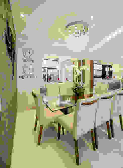 Apartamento Indaiatuba Salas de jantar modernas por Designer de Interiores e Paisagista Iara Kílaris Moderno