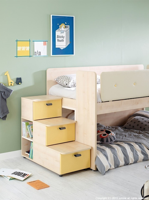​DOUBLE LINE BEDDING 모던스타일 침실 by jumine 모던
