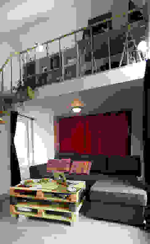 piece principale Salon moderne par lmarchitectureinterieure Moderne