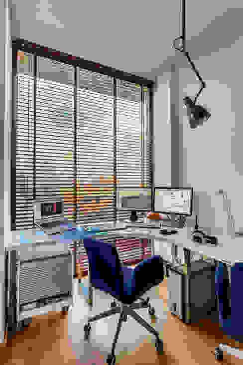 Apartment w Libertowie pod Krakowem: styl , w kategorii Domowe biuro i gabinet zaprojektowany przez Biuro Projektowe Pióro,Minimalistyczny