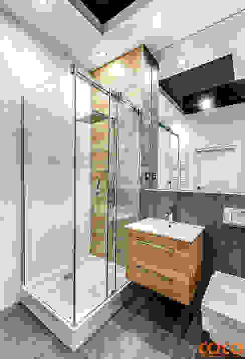 Ванная комната в стиле минимализм от COCO Pracownia projektowania wnętrz Минимализм