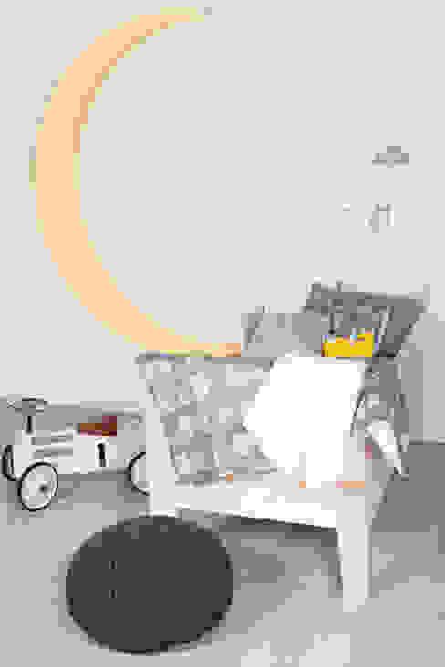 Łóżeczko dziecięce drewniane od My Label Skandynawski