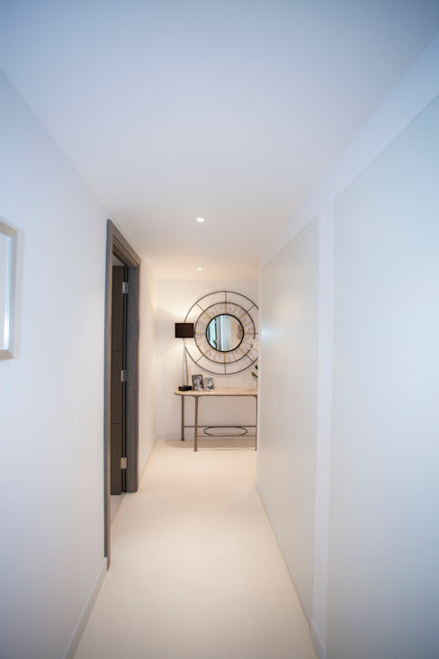 Living Areas trulli Design Minimalist corridor, hallway & stairs
