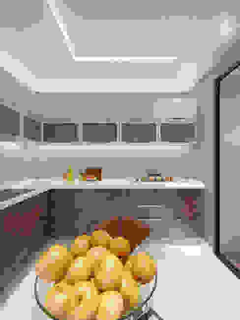 Дизайн-проект интерьера кухни. Кухня в стиле минимализм от ИнтеРИВ Минимализм