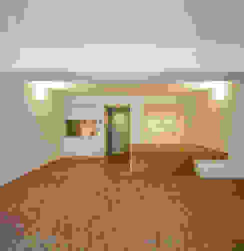 Immeuble à appartements Jaax Maisons modernes par Atelier d'architecture Pierre Hebbelinck et Pierre de Wit Moderne
