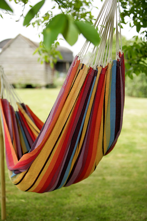 Double Rainbow Hammock:  Garden  by Hen and Hammock,