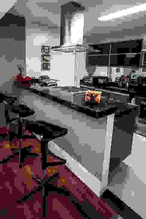 Apartamento Campo Belo Cozinhas modernas por SP Estudio Moderno