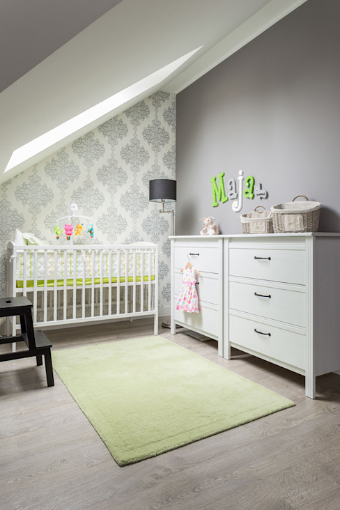 Dormitorios infantiles de estilo escandinavo de Projekt Kolektyw Sp. z o.o. Escandinavo