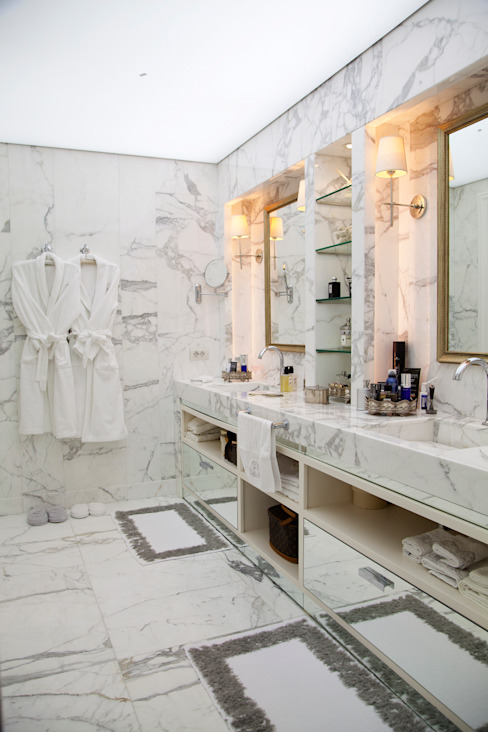 Ванная комната в стиле модерн от Kerim Çarmıklı İç Mimarlık Модерн