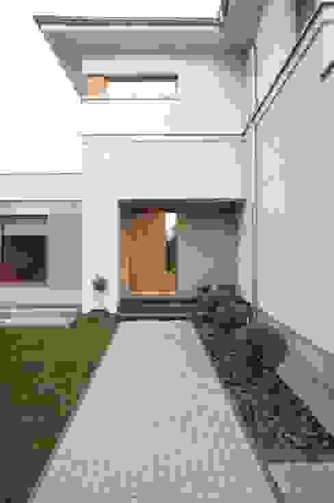 dom po przebudowie Sasiak - Sobusiak Pracownia Projektowa Nowoczesne domy