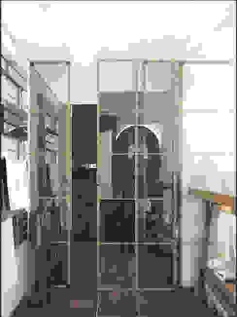 LOFT APARTMENT МОСКВА Ванная в стиле лофт от IK-architects Лофт