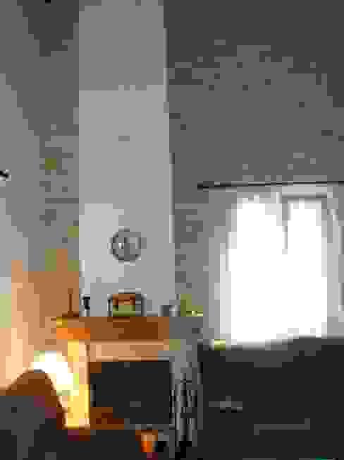 MODULAR HOME Salas de estar campestres