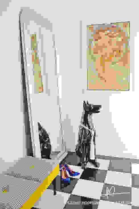 Studio Modelowania Przestrzeni Eclectic style corridor, hallway & stairs
