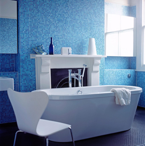 Highgate House - 5 Modern bathroom by Jonathan Clark Architects Modern