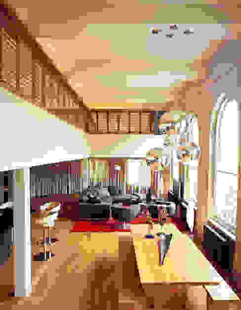 Islington Apartment - 2 Salas modernas de Jonathan Clark Architects Moderno