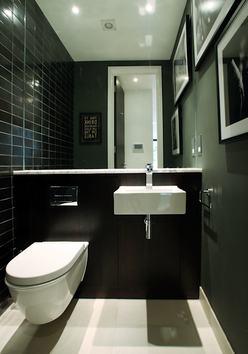 Fulham House by Peek Architecture. Modern bathroom by Alex Maguire Photography Modern