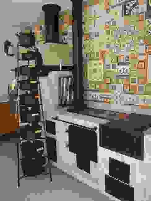 Terrazas de estilo  por Raquel Pelosi Arquitetura e Design Visual , Rústico