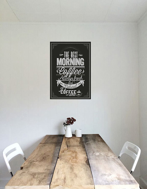 Obrazy na drewnie: styl , w kategorii  zaprojektowany przez Inoutprint,Nowoczesny