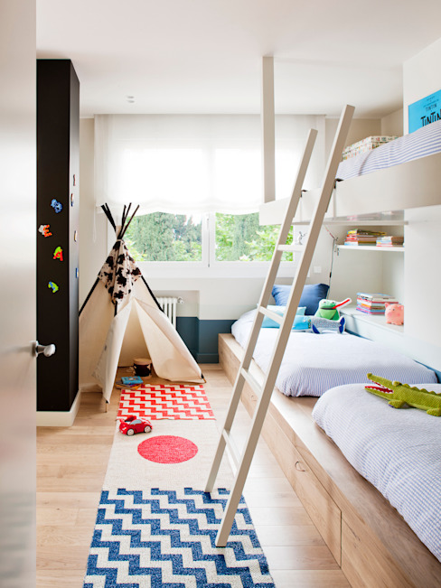 Teen bedroom by A! Emotional living & work, Minimalist