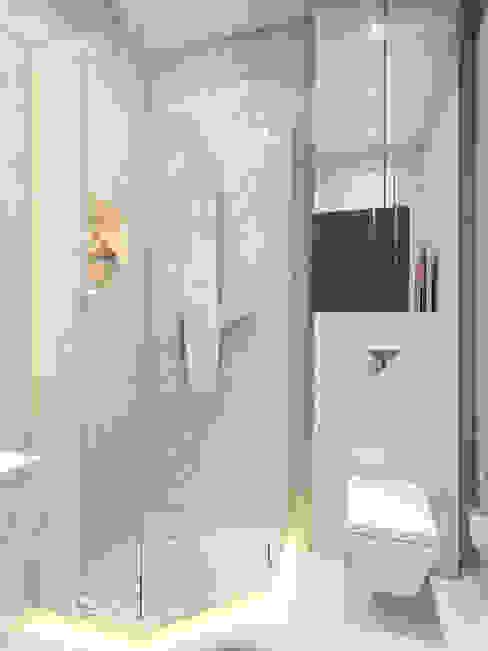 apartment of 32sq.m. Ванная в стиле лофт от Entalcev Konstantin Лофт