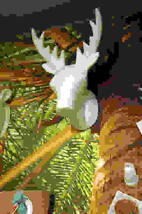 Dekoracja ścienna - wieszak Deer duży marki The Zoo od Sklep Internetowy Kiddyfave.pl Nowoczesny