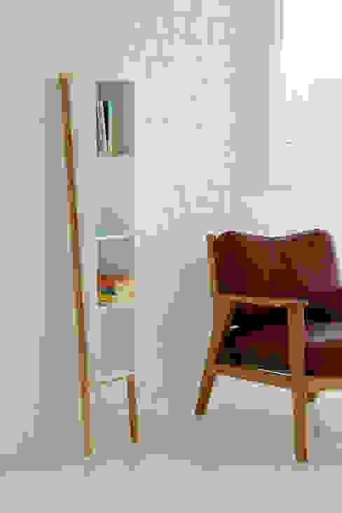 Lean Man Shelves: scandinavian  by And Then Design Limited, Scandinavian