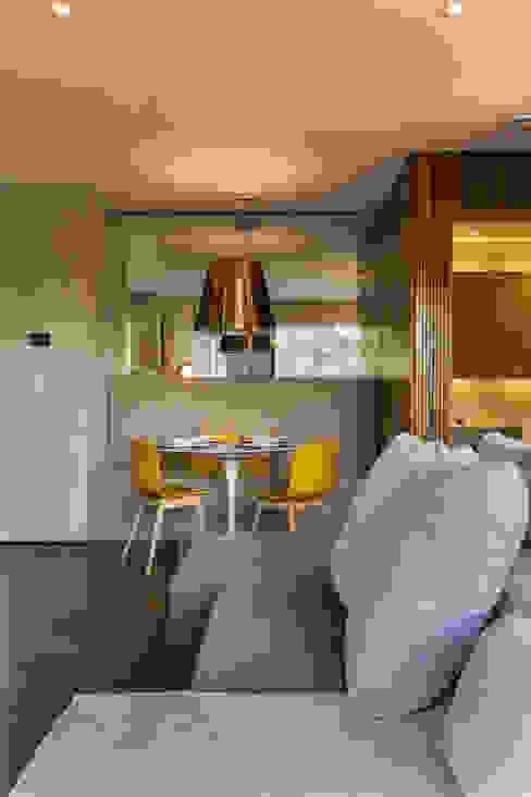 Comedores de estilo moderno de Studiodwg Arquitetura e Interiores Ltda. Moderno